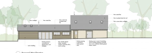 Clare Nash Architecture receives approval for a barn conversion