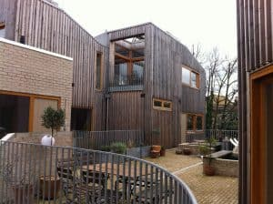 HHbR Copper Lane cohousing terrace
