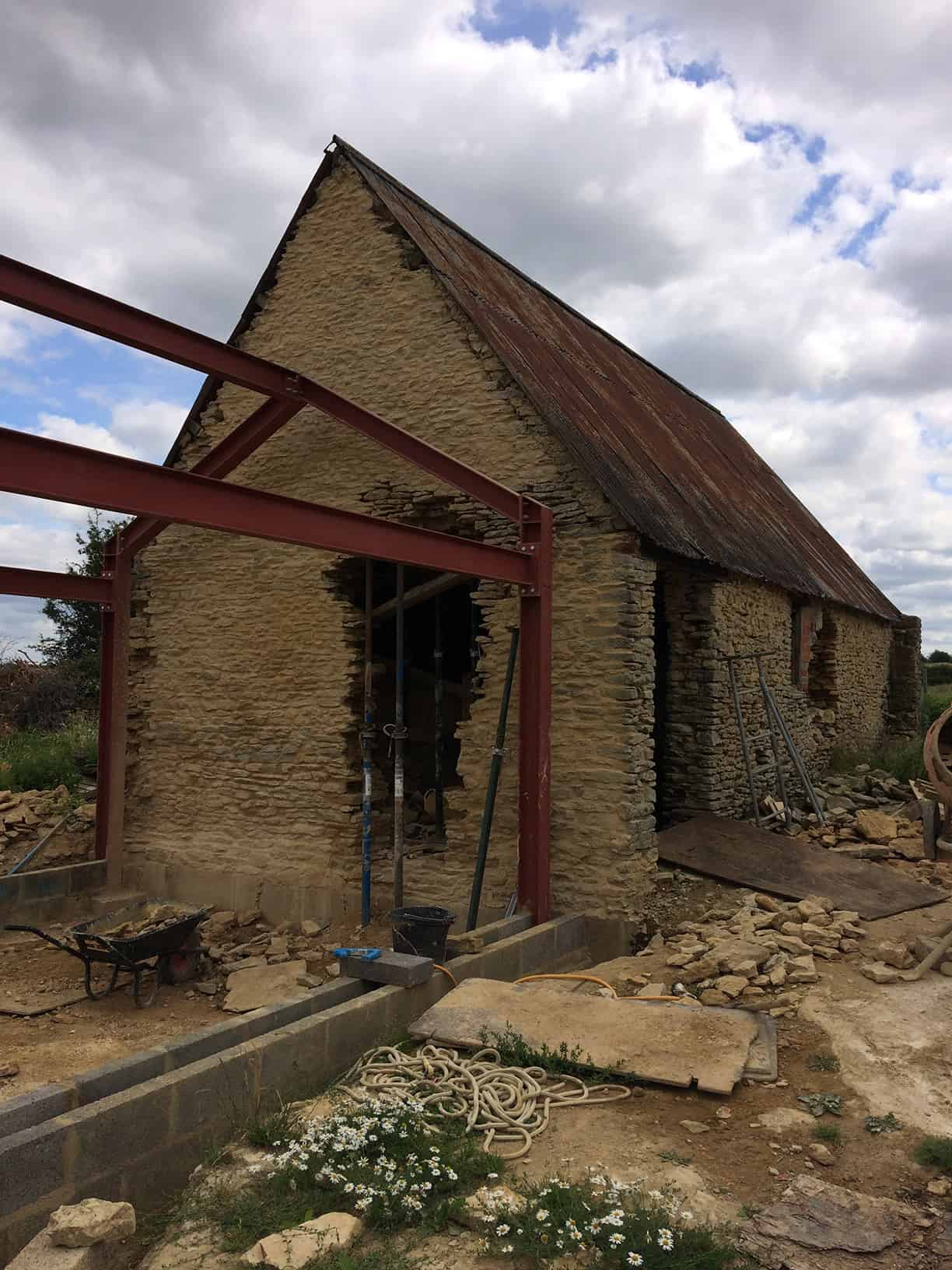 Barn conversion and re-build