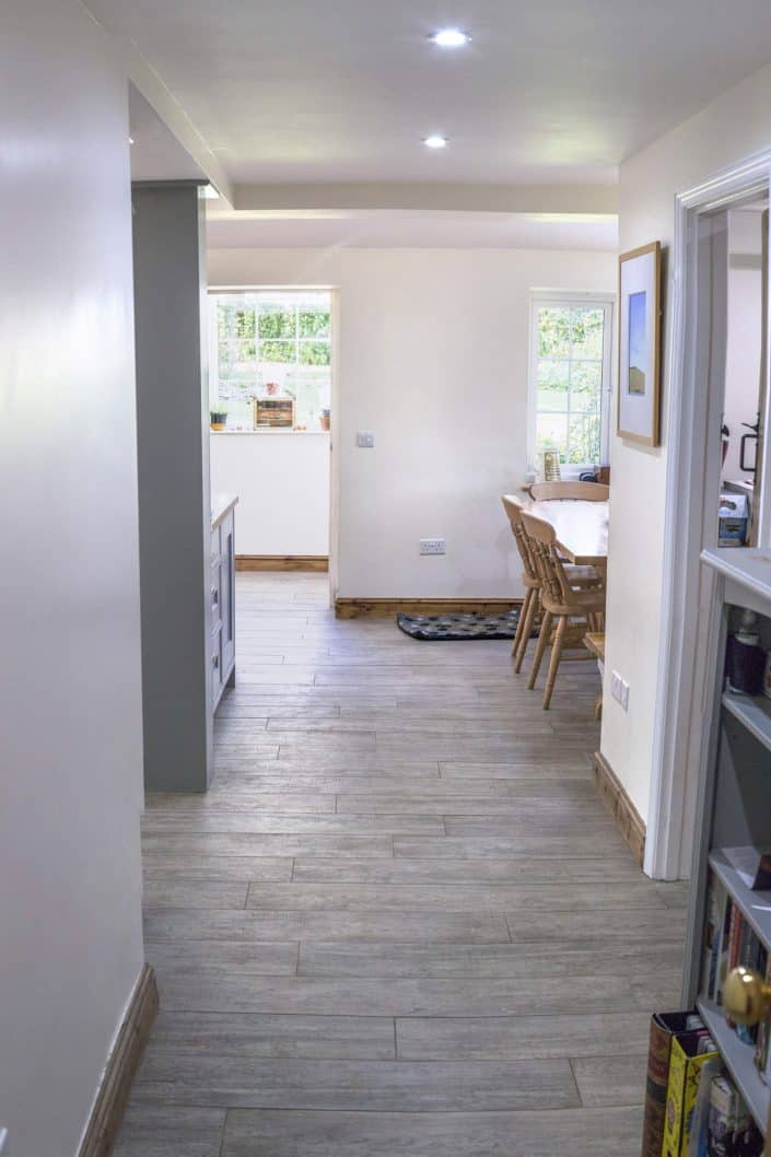 Small extension to maximise space and light