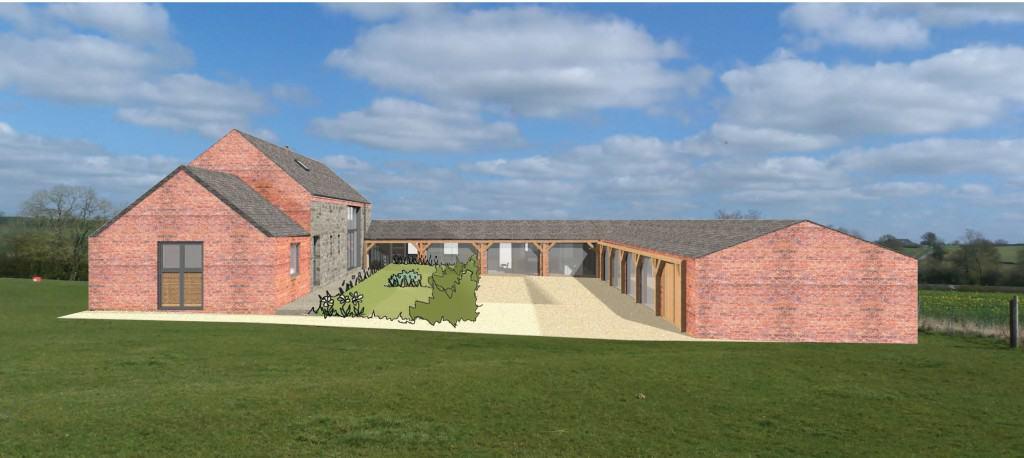 Farm Yard Conversion to Dwelling
