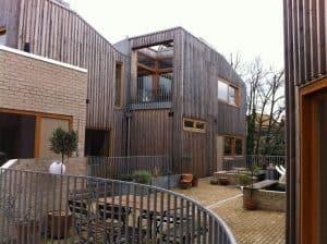 HHbR Copper Lane cohousing terrace