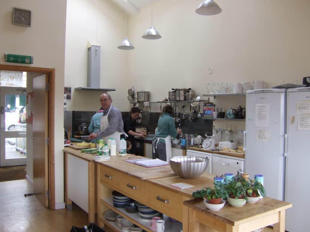 Springhill communal kitchen