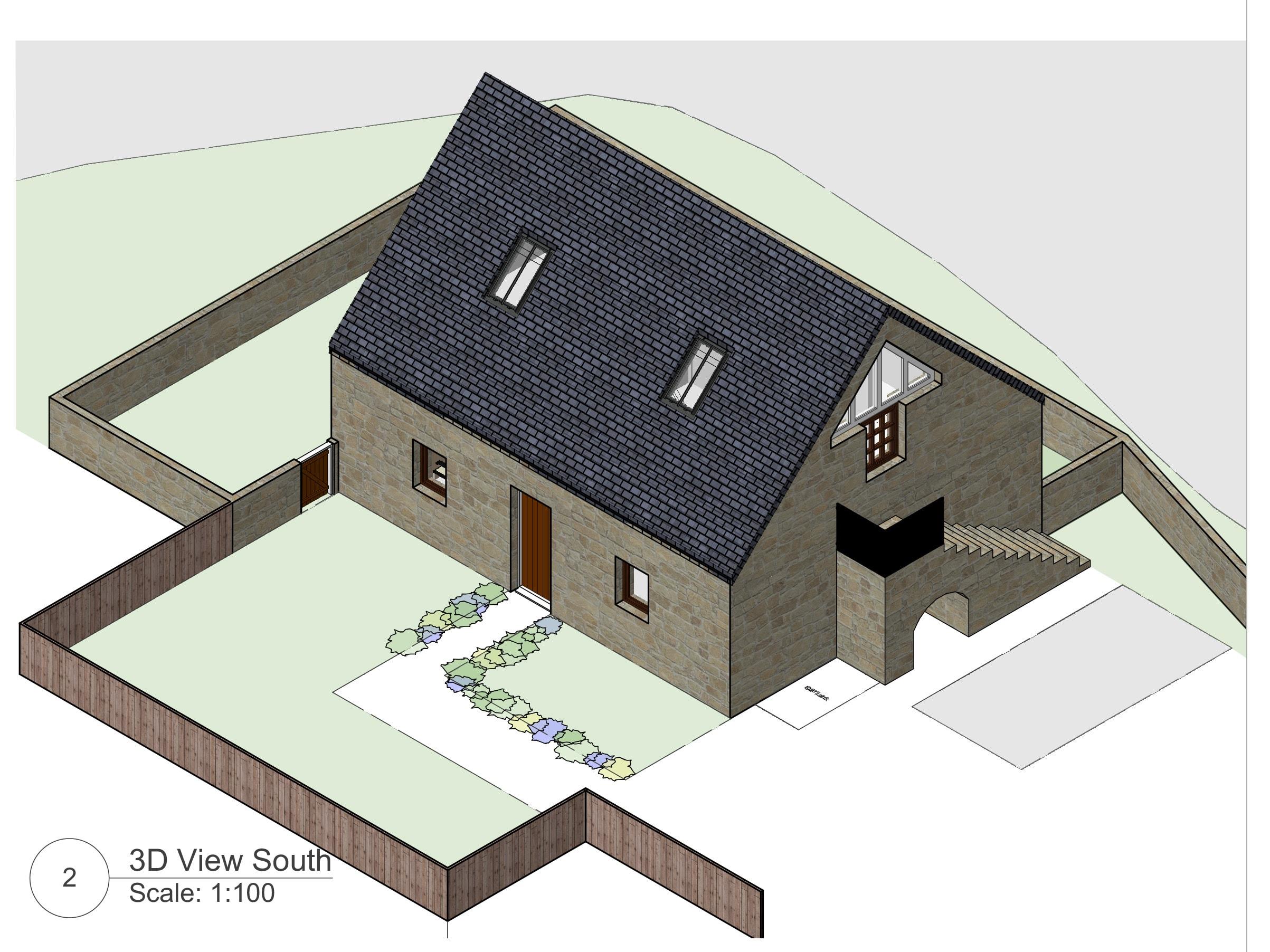 One Bedroom Barn Conversion