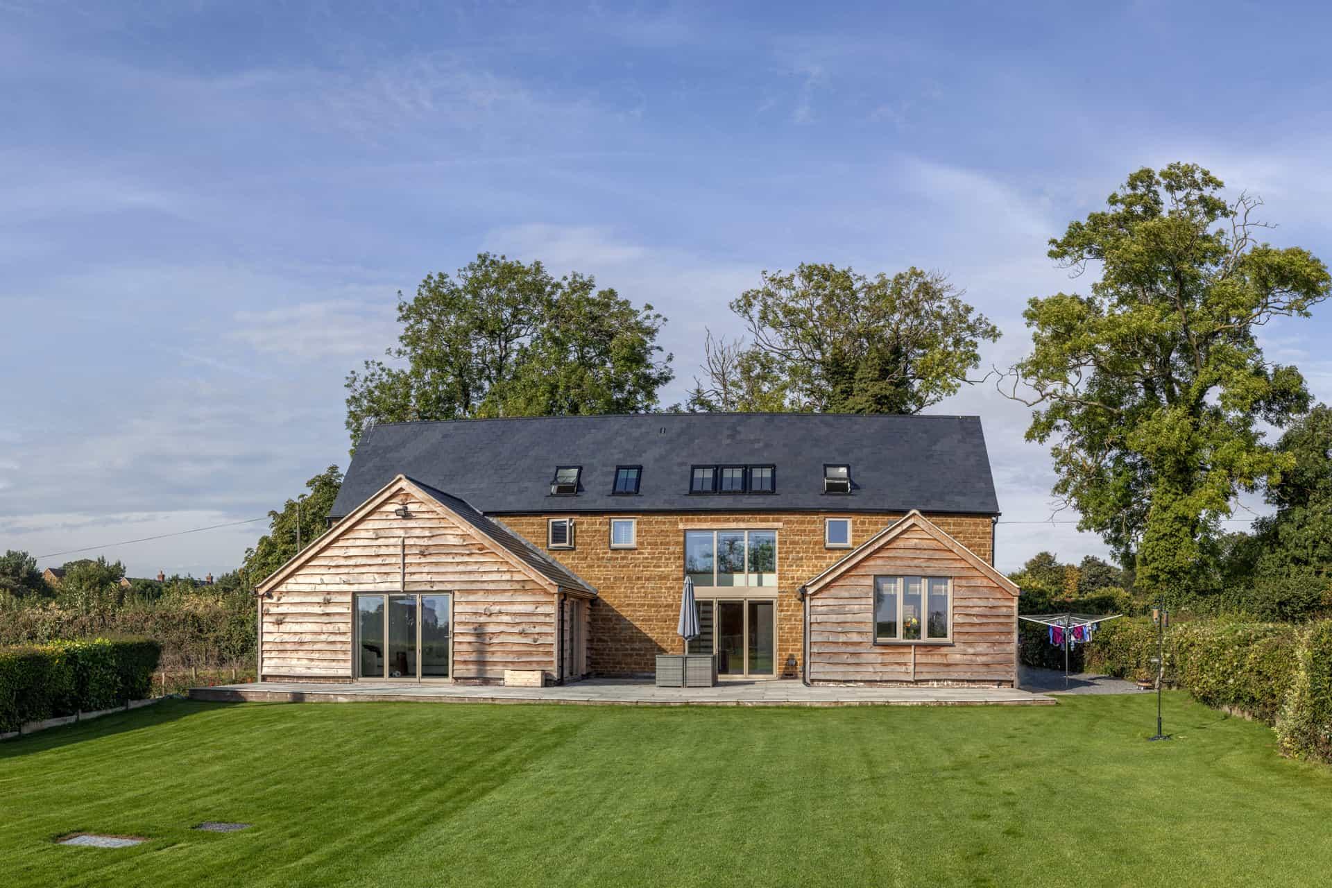 Energy Efficient New-Build Barn Style House